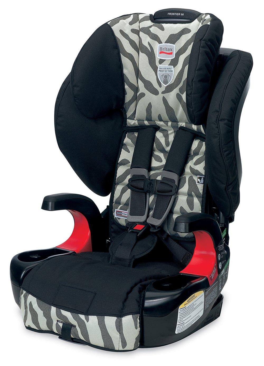 amazon com britax frontier 90 booster car seat zebra older rh amazon com britax frontier 90 user manual Britax Frontier 85 vs 90