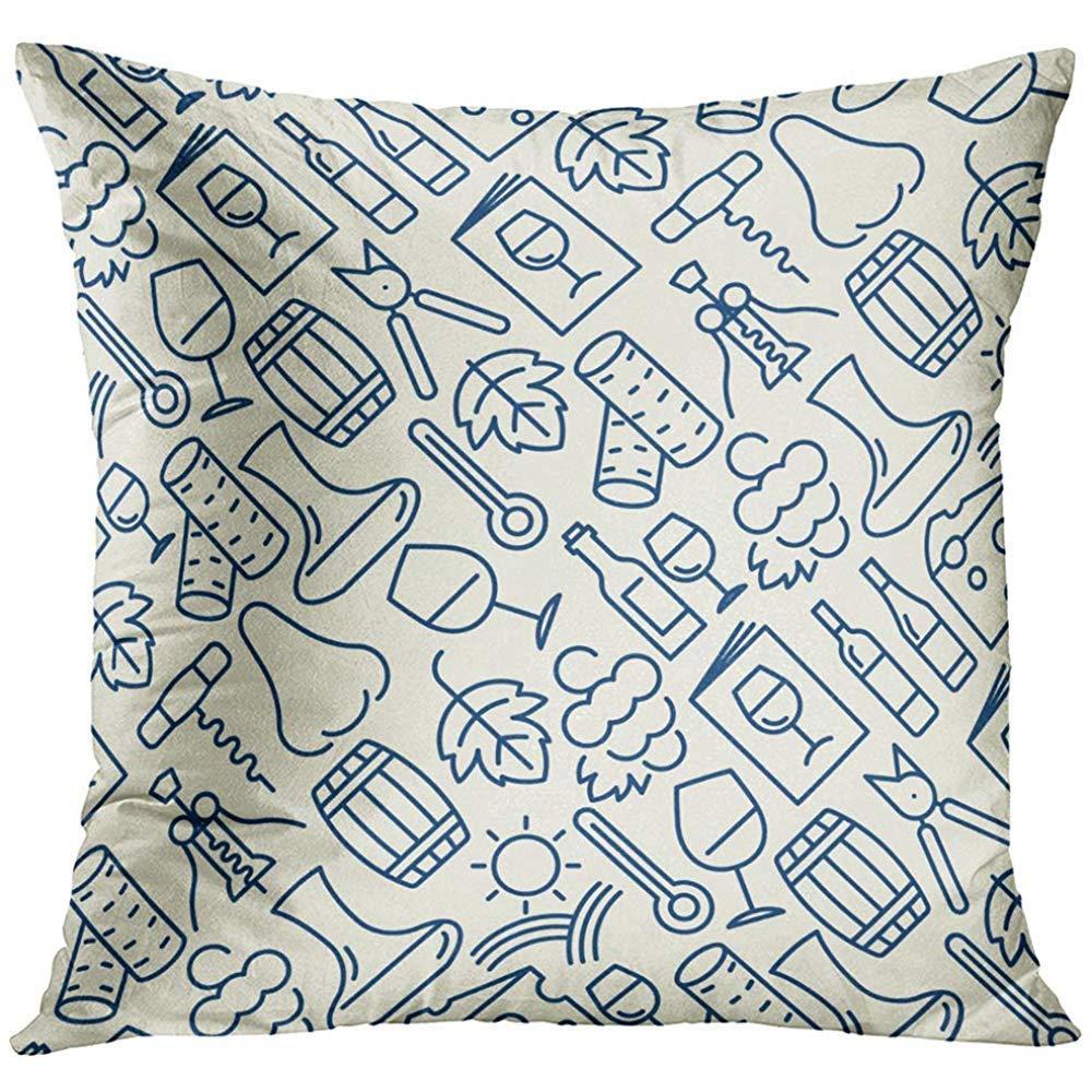 かわいいBBカバー ユニーク クール 隠しジッパー 装飾的なプレゼント/ギフト用アート枕カバー  Pic19 B07RTBHGZS