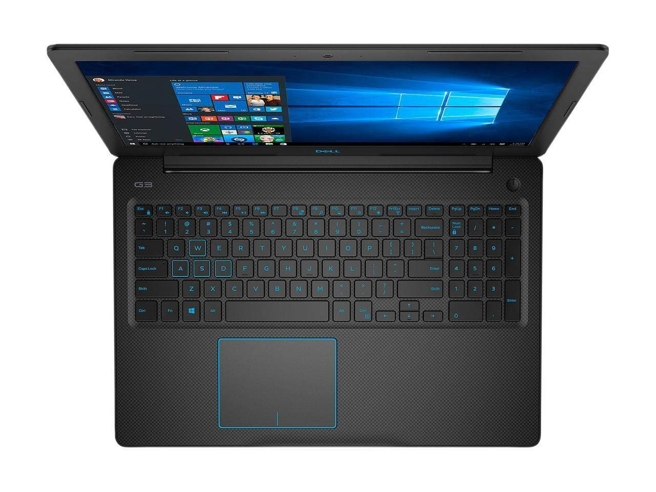 Dell G3 15.6 FHD IPS High Performance Gaming Laptop, Intel Quad Core i5-8300H up to 4.0GHz, 16GB Memory, 512GB SSD, NVIDIA GeForce GTX 1050 Ti 4GB, Backlit Keyboard, Windows 10