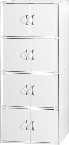 Hodedah Bookcase Modern Bookcase