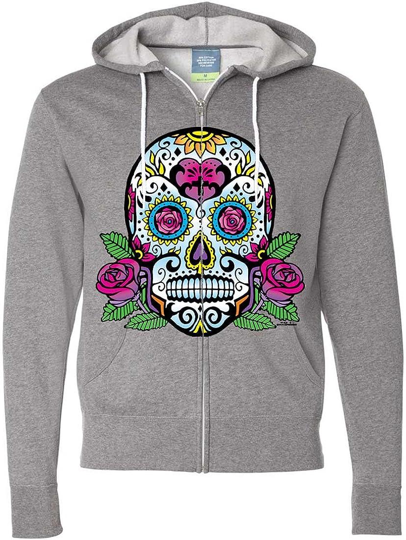 wellcoda Day of The Dead Skull Mens Sweatshirt Skull Casual Jumper