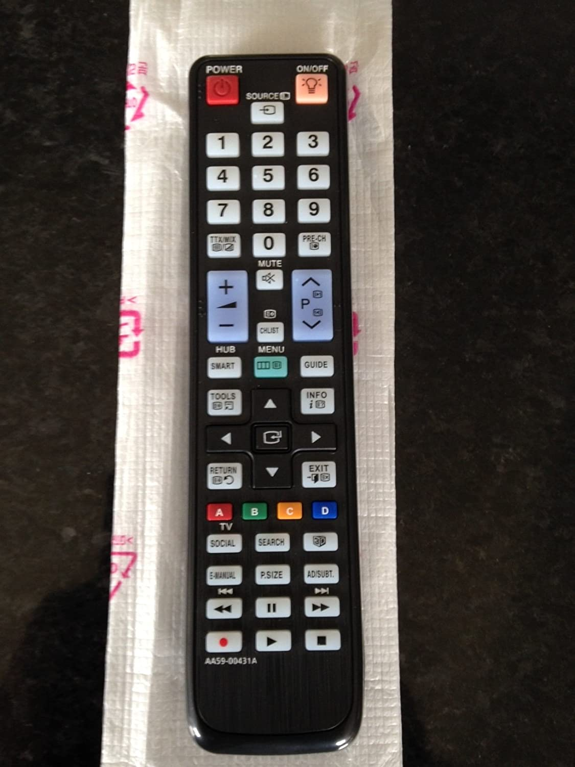 samsung smart tv remote 2014. 121av replacement remote control for samsung 3d smart: amazon.co.uk: electronics smart tv 2014 t