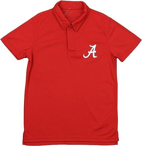 NCAA Alabama Crimson Tide Juventud del Boy rendimiento Polo, color ...
