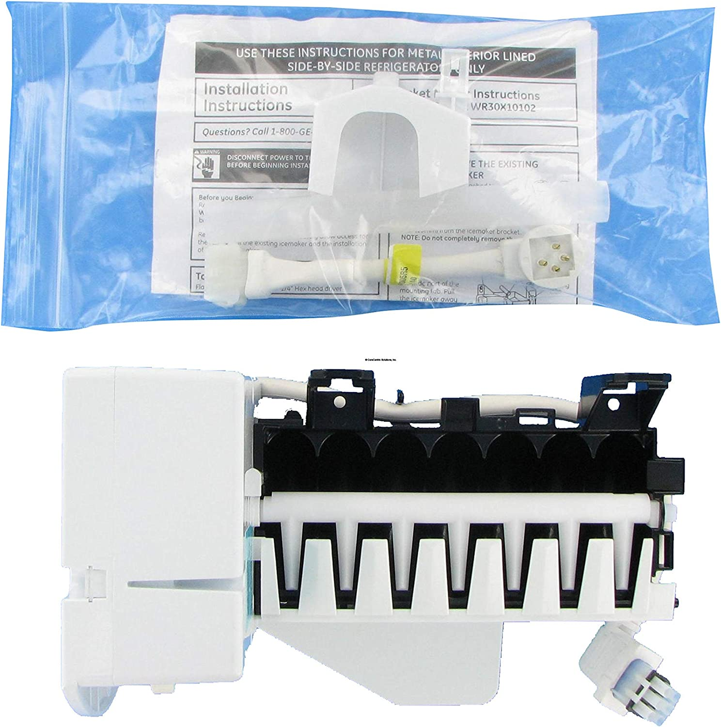 GE General Electric Kenmore Icemaker WR30X0283 WR30X0282 WR30X0259 WR30X0241