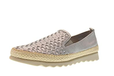 Shoes Woman Moccasins C122_29 Chapter Silver