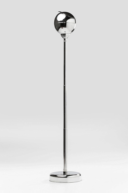 13 x 13 x 72 cm KARE Ashtray with Closable Flap Tray Metallic Black
