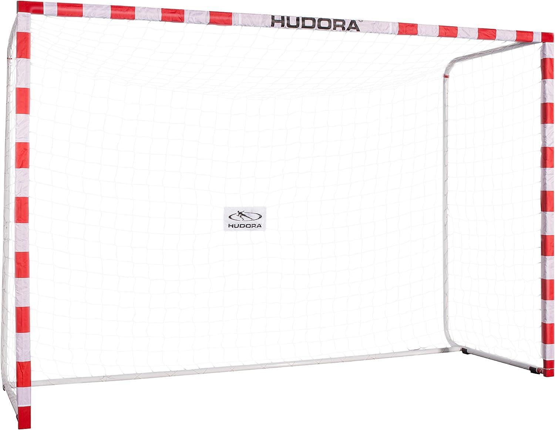 Hudora Allround 300 - Portería de fútbol para el jardín–76906