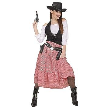 WIDMANN Video Delta Belle Western Costume Pequeño de oeste salvaje vestido  de lujo 74cc617c053