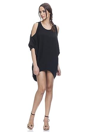 TANTRA Damen Kleid schwarz Schwarz Einheitsgröße