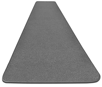 Amazon.com: House, Home and More Outdoor Carpet Runner - Gray - 4\' x ...