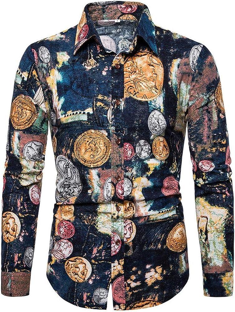 Poachers Camisas de Hombre de Vestir Camisas Hawaianas Hombre Camisas Hombre Manga Larga Tallas Grandes con Bolsillo Camisas Hombre Verano 2019 Camisetas Hombre Originales Divertidas: Amazon.es: Ropa y accesorios