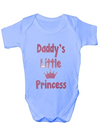 ea38ecc3 Daddy's Little Princess Babygrow Girl Vest: Amazon.co.uk: Clothing