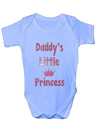 b47461ef8 Daddy s Little Princess Babygrow Girl Vest  Amazon.co.uk  Clothing
