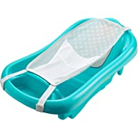 The First Years Infant to Toddler Tub with Sling, Aqua, 1 Pack