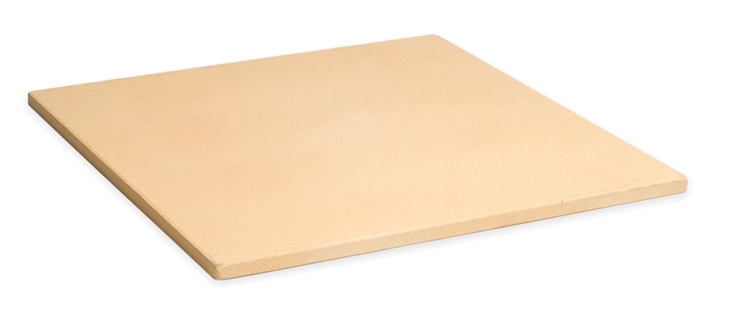 Renewed Pizzacraft PC9897 15 Square ThermaBond Pizza Stone for Oven or Grill