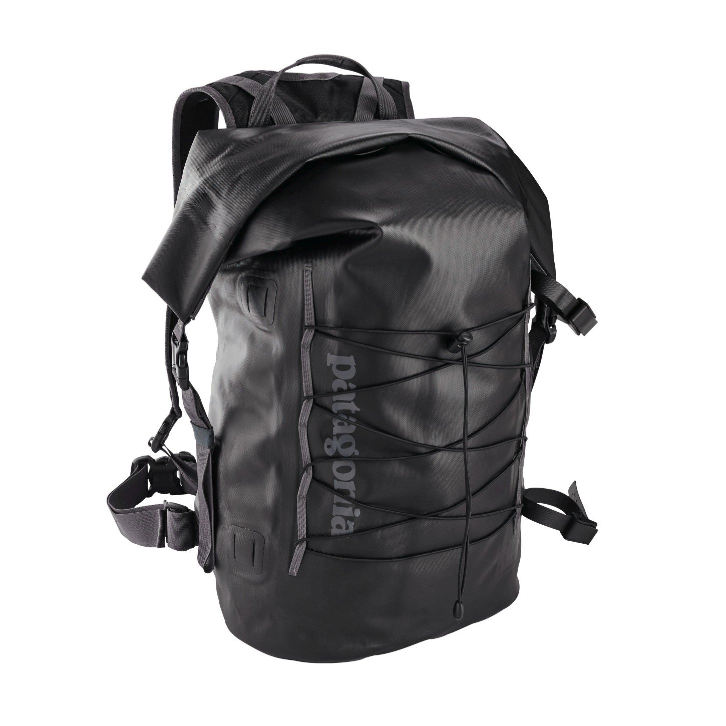 Patagonia パタゴニア Stormfront Roll Top Pack ザック バッグ 防水 (Black)