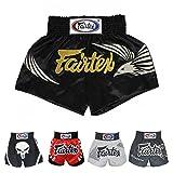 Fairtex Muay Thai Boxing Shorts Red Black White