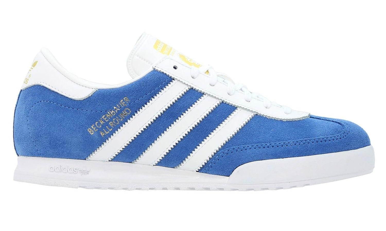 Adidas Originals Beckenbauer Blue White Stripes Suede