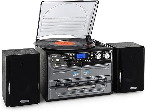 Auna TC-386WE - Lector de CD para equipo de audio, negro ...