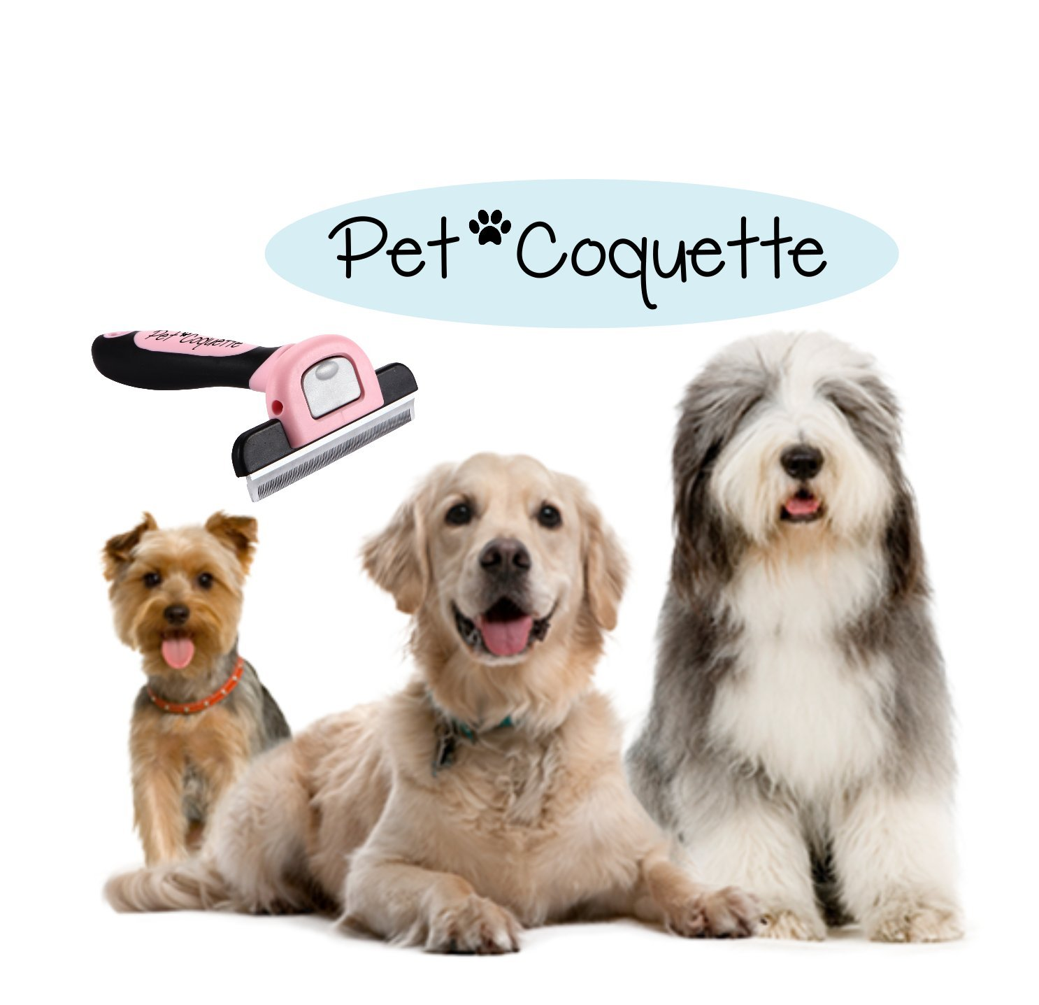 Large, Pink Pet Brush for Dogs//Cats Stops Loose Hairs From Getting Everywhere Keeps Your Home Clean