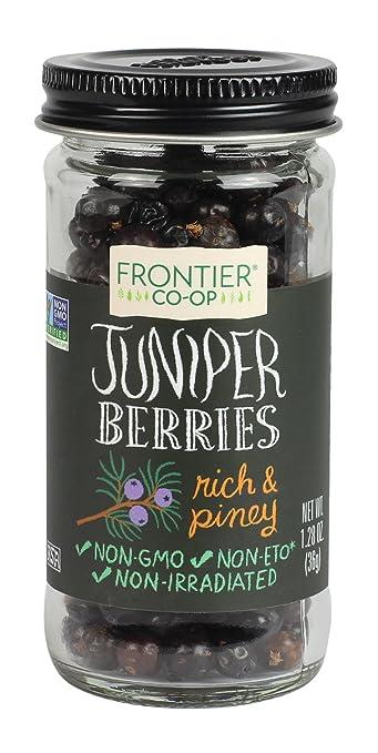 Frontier Whole Juniper Berries, 1.28 Ounce