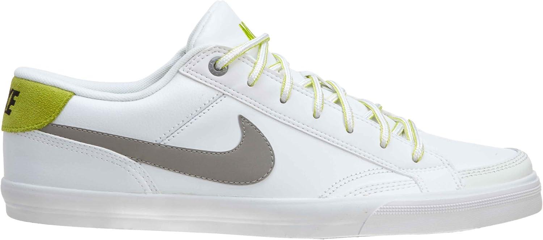 Nike Capri II 2 weiß gelbgrün (407984 111) Größe 44.5
