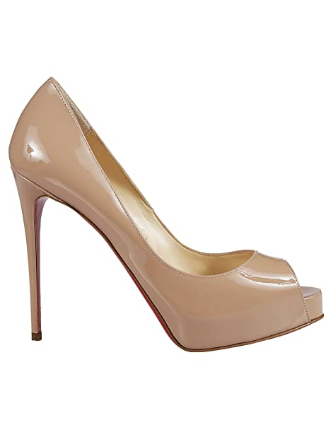 46c1e5f3b33 Christian Louboutin Women's 1150600PK1A Beige Patent Leather Pumps ...