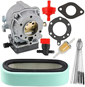 TOPEMAI 693480 Carburetor for Briggs & Stratton 693479 499306 694026 694056 495181 with 394019S Air Filter 394358S Fuel Filter