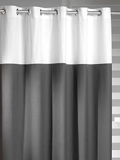 Amazon Sealskin Extra Long Hookless Shower Curtain 72 X 78 Inch