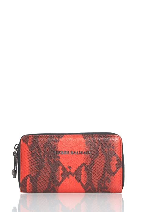 Pierre Balmain - Cartera para mujer , color Rojo, talla one size: Amazon.es: Zapatos y complementos