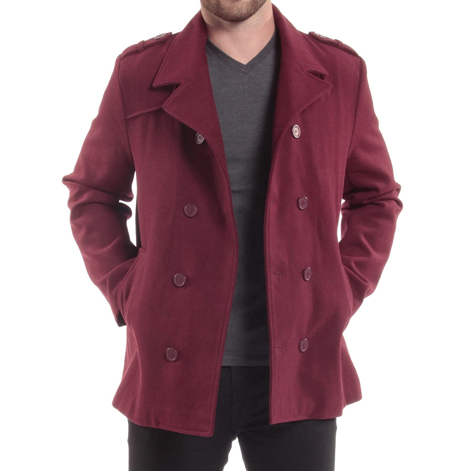 Amazon Best Sellers: Best Men's Wool Jackets & Coats
