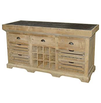 Amazon.com - Kathy Kuo Home Jean French Country Reclaimed ...