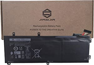 JIAZIJIA H5H20 Laptop Battery Replacement for Dell XPS 15 9550 9560 9570 7590 Precision 5510 5520 5530 5540 Inspiron 7590 7591 Series Notebook 6GPTY 62MJV M7R96 5D91C 05D91C 11.4V 56Wh 4946mAh 3-Cell