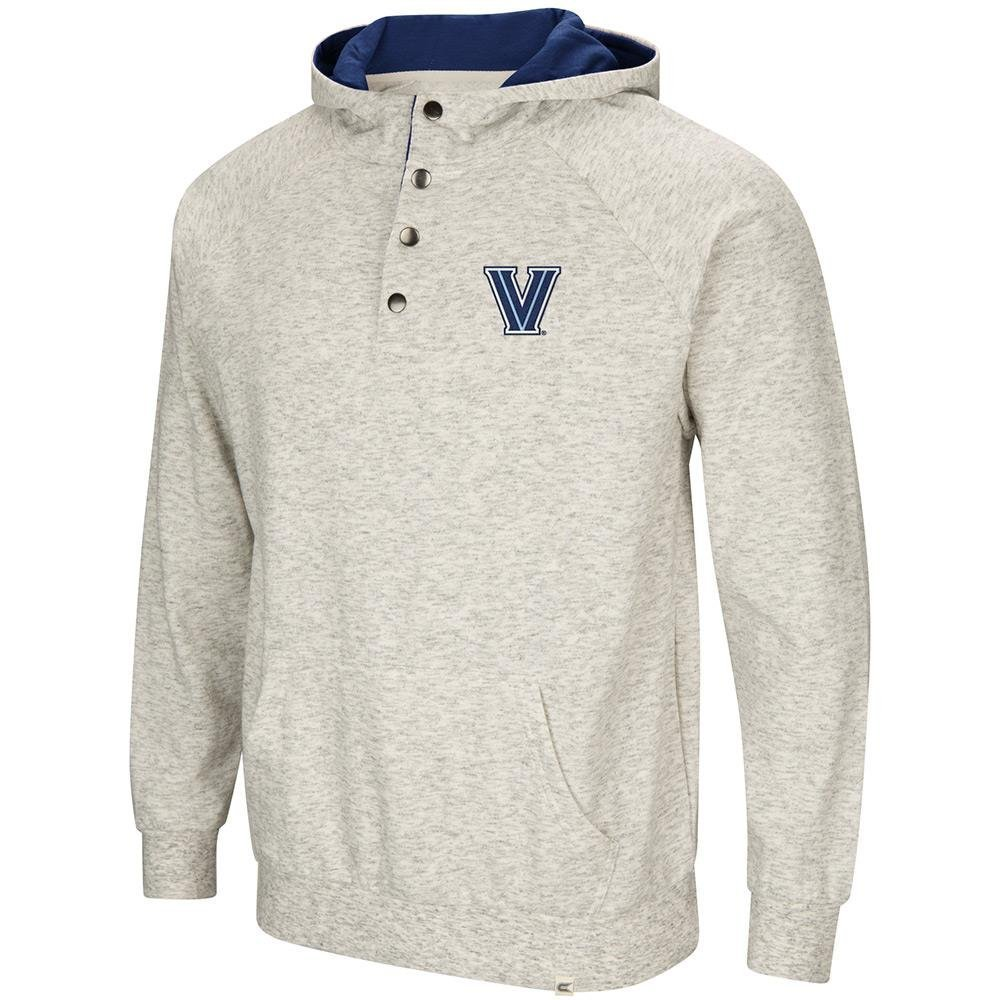 Colosseum Mens Villanova Wildcatsヘンリーフリースパーカー B07DWJPL52   Small