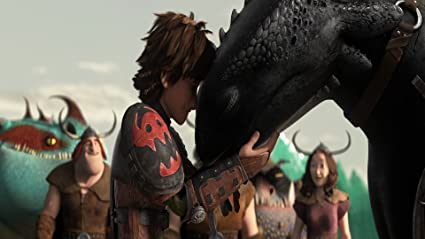 Posterhouzz Movie How To Train Your Dragon 2 Toothless Hiccup HD Wallpaper Background Fine Art Paper