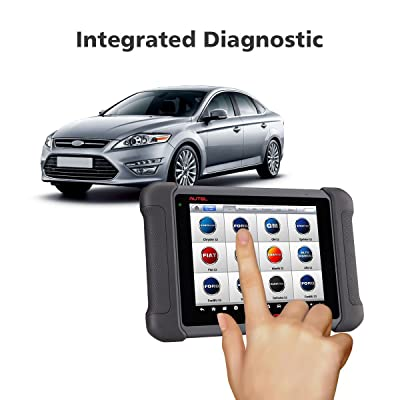 Autel Maxisys MS906 diagnostic tool performs advanced vehicle diagnostics and analysis