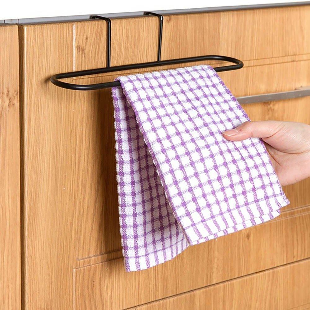 Sobre la puerta gancho percha por VANKER, hierro organizador rack para bañ o cocina y sala de estar hierro organizador rack para baño cocina y sala de estar