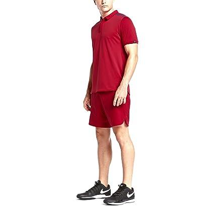 ab78fde00 Amazon.com: Nike Court Roger Federer Mens Tennis Polo Shirt 843849 ...