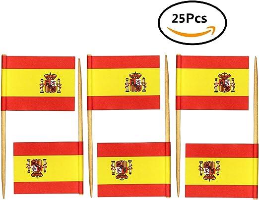 Compra Durabol Palillos de Cóctel con Bandera de España – Juego de ...