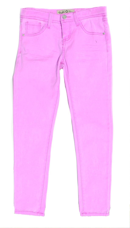 Vanilla Star Neon Skinny Jeans 6X Girls 7-14