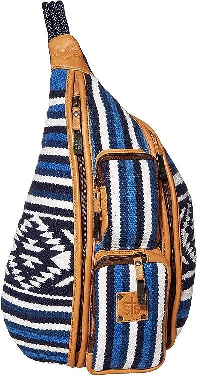 Serape Blue Bag