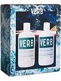 Verb Hydrating Shampoo & Conditioner Duo + Comb 12 oz