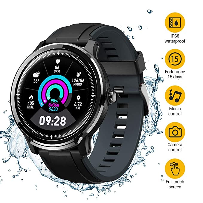 Smart Watch,Fitness Activity Tracker with 5ATM Waterproof ...