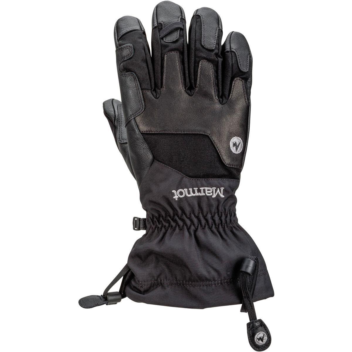 Marmot Exum Guide Glove B01DTU00GQ Medium|ブラック ブラック Medium