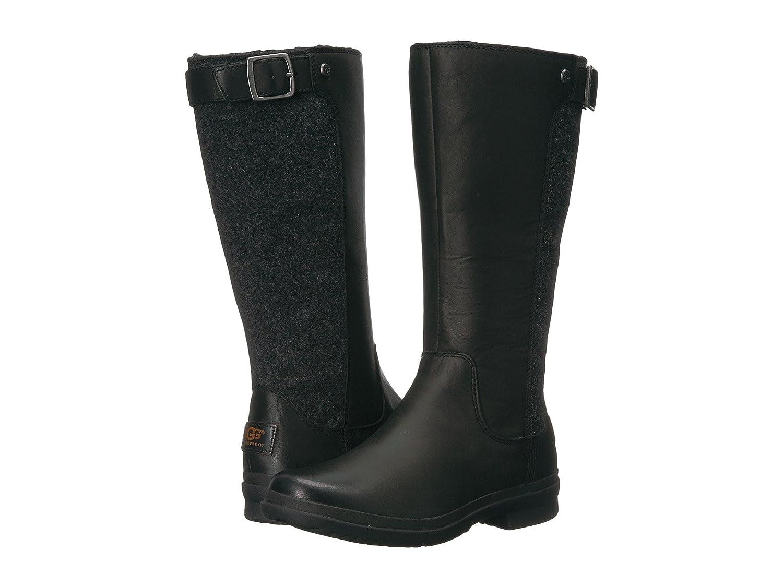 [UGG(アグ)] レディースブーツ靴 Janina Black 6 (23cm) B - Medium B07DP6NHJS
