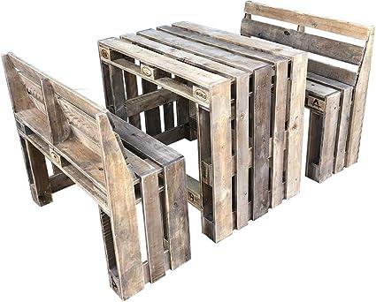 DerPalettenMöbelShop palé Muebles hochsitz de Grupo Bonny & Clyde High de Palets ippc Certificados, Cada Pieza es único y se en Alemania en Mano.: Amazon.es: Jardín
