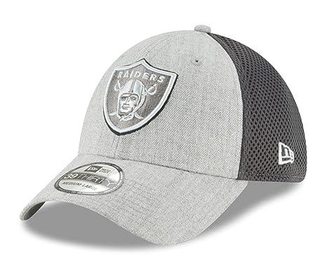 Amazon.com   New Era Oakland Raiders NFL 39THIRTY Heathered Neo Pop ... 824a8244c38
