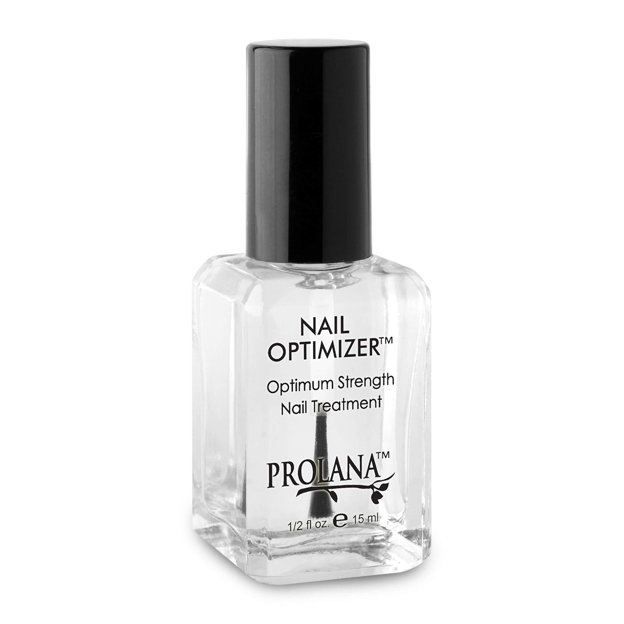 Prolana Nail Optimizer One-Step Multi Use Nail Fortifier, Nail Hardener, Nail Strengthener - Optium Strength Nail Treatment .5 ounces/ 15 milliliters by Prolana