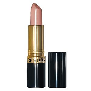 Revlon Super Lustrous Lipstick with Vitamin E and Avocado Oil, Cream Lipstick in Nude, 755 Bare It All