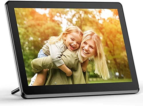 Digital Picture Frame WiFi 10 Inch Digital Photo Frame 1080P HD Display IPS Touch Screen